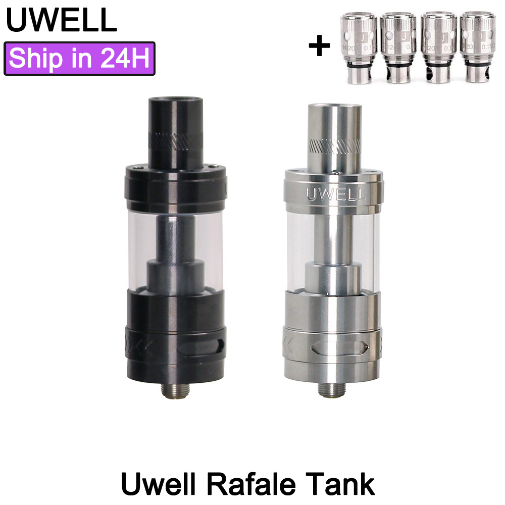 Clearence!! Original Uwell Rafale Sub ohm Tank 23mm 5ml Capacity For 510 Thread 1