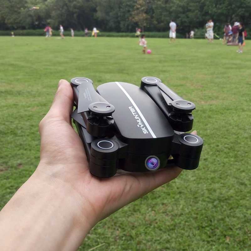C Folding Unmanned Aerial Vehicle Smart Aerial Photography Remote Control High-definition Profession Airplane Model Airplane No