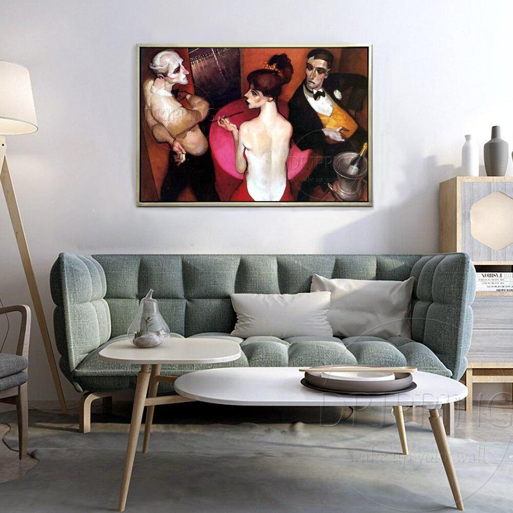 Hoge Geschoolde Kunstenaar Pure handgeschilderde Impressionistische Brazilië Portretten Olieverfschilderij Mooie Brazilië Wall Art Schilderen-in Schilderij & Schoonschrift van Huis & Tuin op  Groep 3