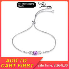 JewelryPalace Celtic Knots 1.5ct Created Pink Sapphire Bracelet 925 Sterling Silver Bracelets Adjustable Chain Gemstone Jewelry jewelrypalace elegant 2 43ct created alexandrite sapphire cubic zirconia halo adjustable bracelets for women 925 sterling silver