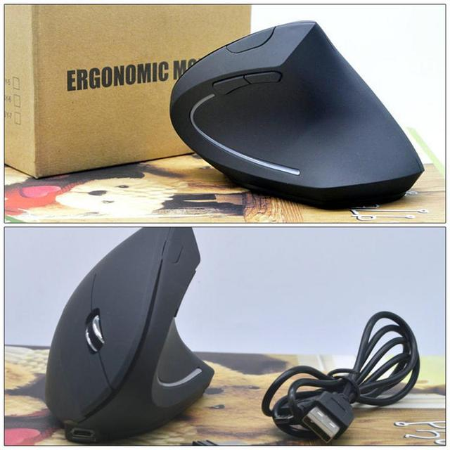 2020 New Shark Fin Mouse Computer Supplies Cool Shark Fin Ergonomic Comfortable Vertical Wireless Mouse Usb Chargering