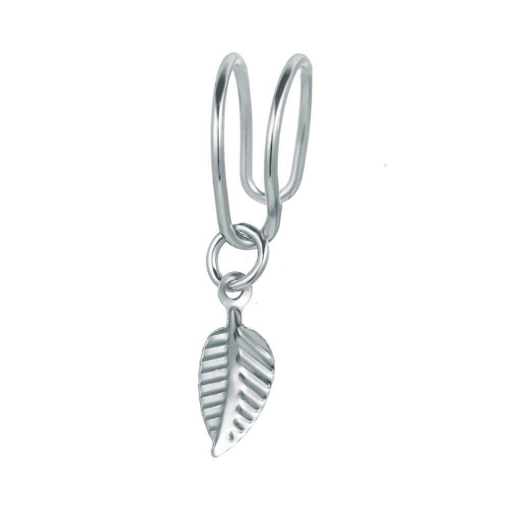 หู Dangle คลิปบนต่างหูชุดสำหรับผู้หญิง Boho Punk Jewelry ผู้หญิง EarCuff เล็บวงกลมแหวน Star Moon Group รวม 5pcs