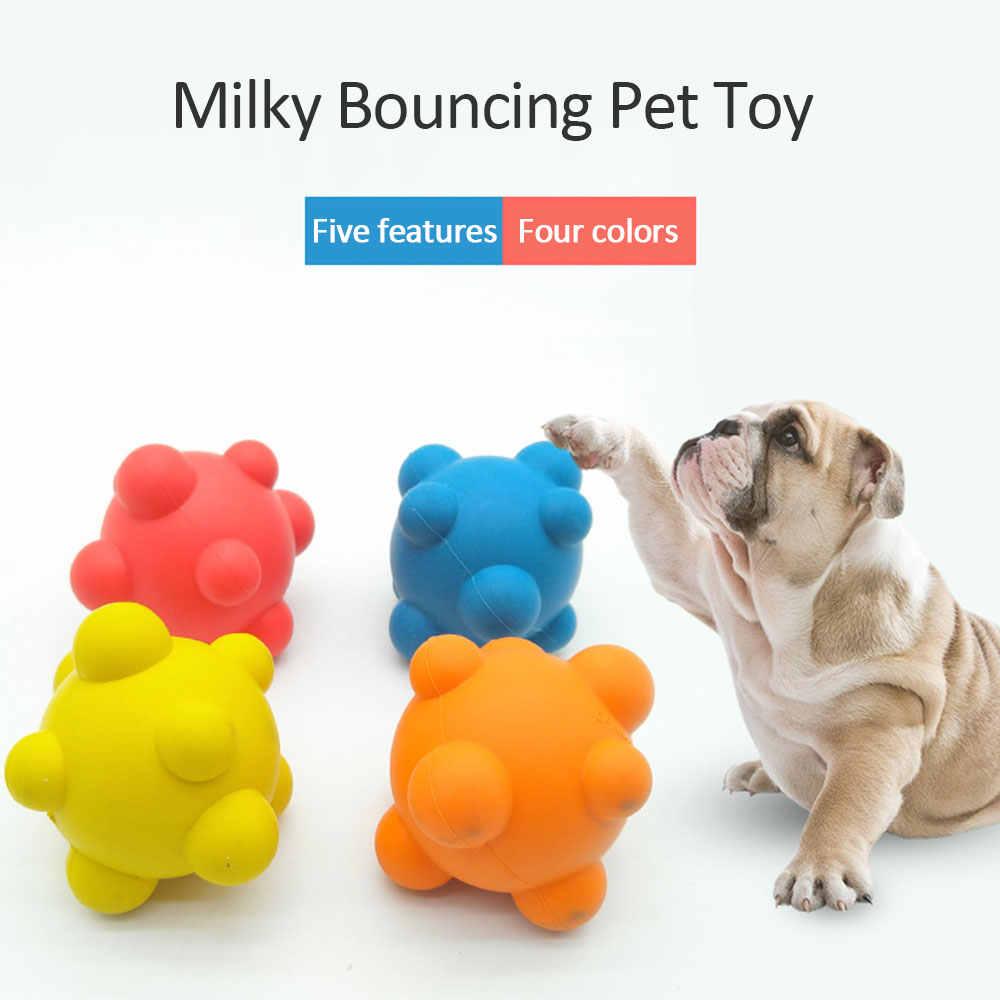 クリエイティブゴムパチンコボール犬ペットのおもちゃゴム噛ま抵抗臼歯トレーニングおもちゃペット用品犬チェイスボールドロップシップ