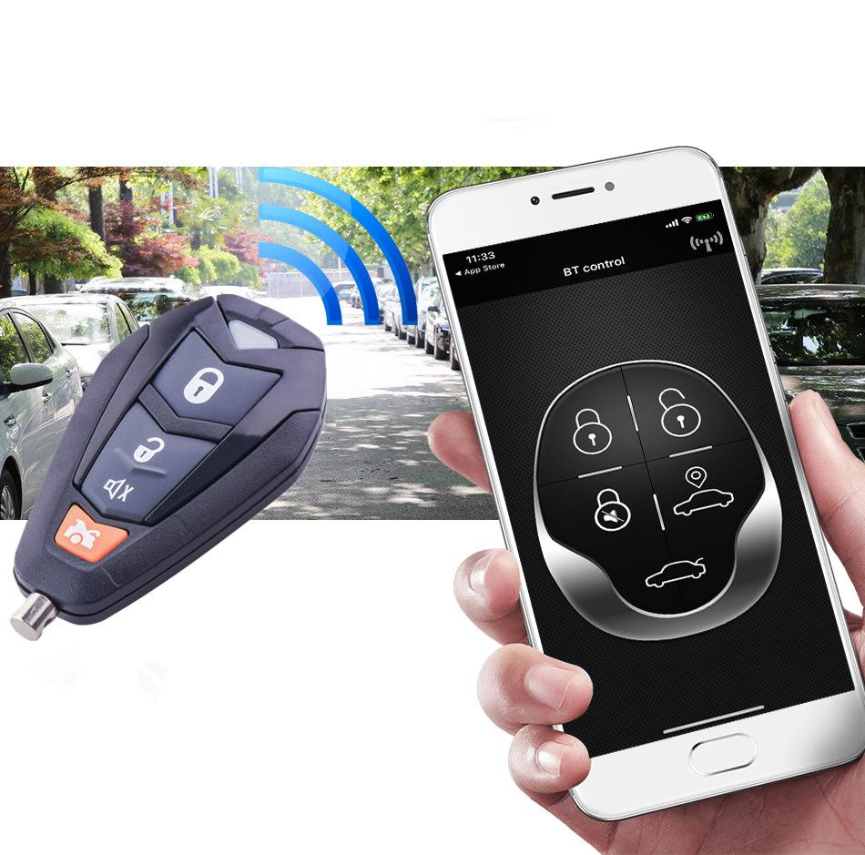 Universal Car Alarm Auto Central Kit <font><b>Door</b></font> Lock Mobile Phone <font><b>Remote</b></font> Control Keyless Entry <font><b>System</b></font> <font><b>Locking</b></font> image