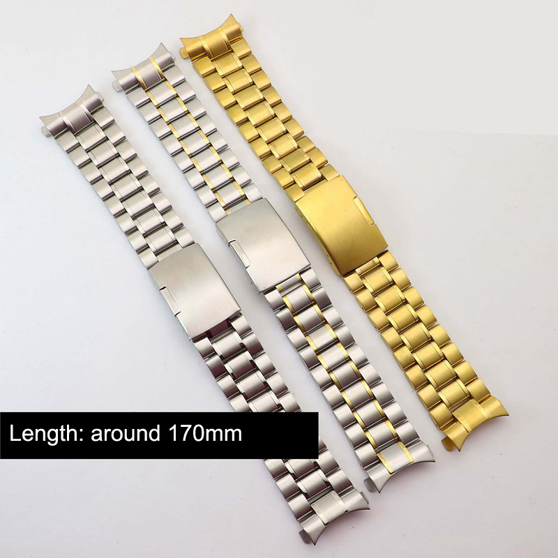 18mm 20mm 22mm 24mm Stainless Steel <font><b>Watch</b></font> Band for Tissot T035 <font><b>PRC200</b></font> T055 T097 Watchband Strap Wrist Bracelet image