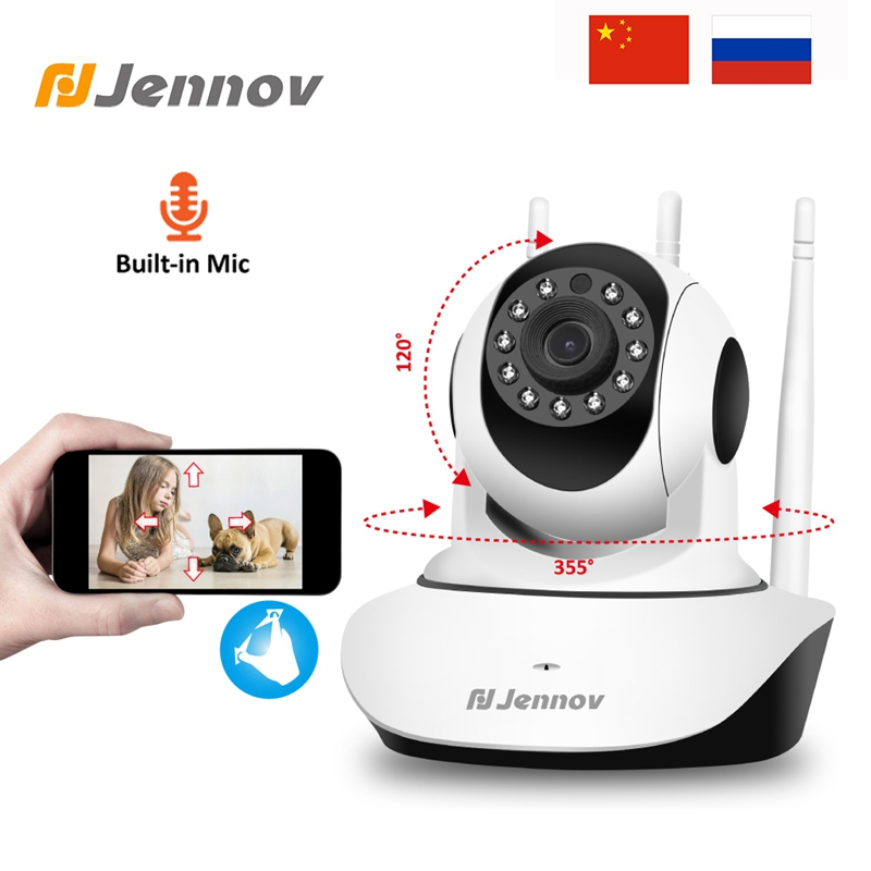 Jennov 1080P 2MP HD PTZ Wireless Home Security Camera Video Surveillance IP Camera Wi-Fi Pet Baby Monitor Audio P2P ONVIF CCTV