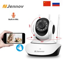 Jennov 1080P 2MP HD PTZ Wireless Home Security Camera Video Surveillance IP Camera Wi-Fi Pet Baby Monitor Audio P2P ONVIF CCTV(China)