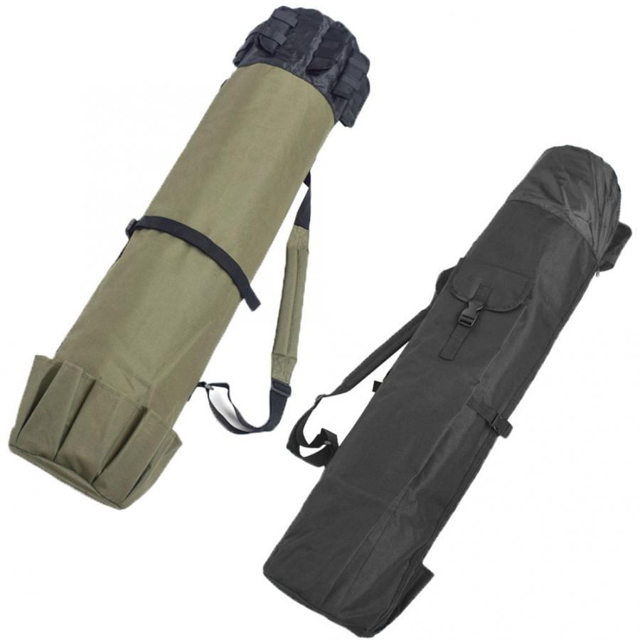 Waterproof Fishing Rod Bag Multifunction Fishing Bags Fishing Tackle Tools Storage Bag Winter Fish Stick Reel Case Carrier