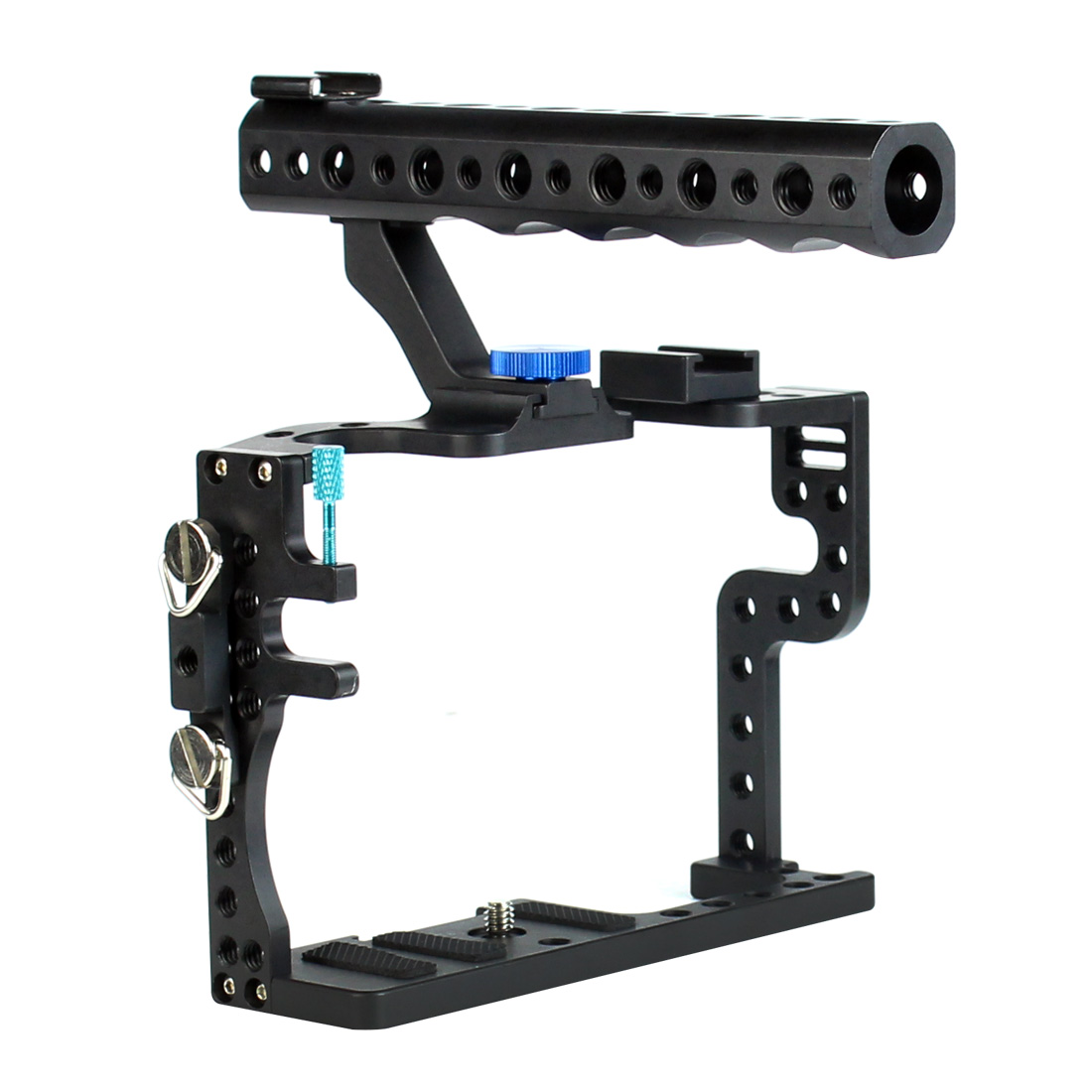Camera Cage With Top Handle Grip Screws Protective Case Mount Holder For Panasonic GH3 / GH4 Camera Photo Studio Photography Kit