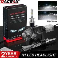 H1 LED مصباح أضاءه أمامي ضوء طقم مصابيح 72W 36W 7000LM H7 H8/H9/H11 9005/HB3 9006/HB4 H4 سيارة LED المصابيح الأمامية لمبات جديلة نحاسية سلك