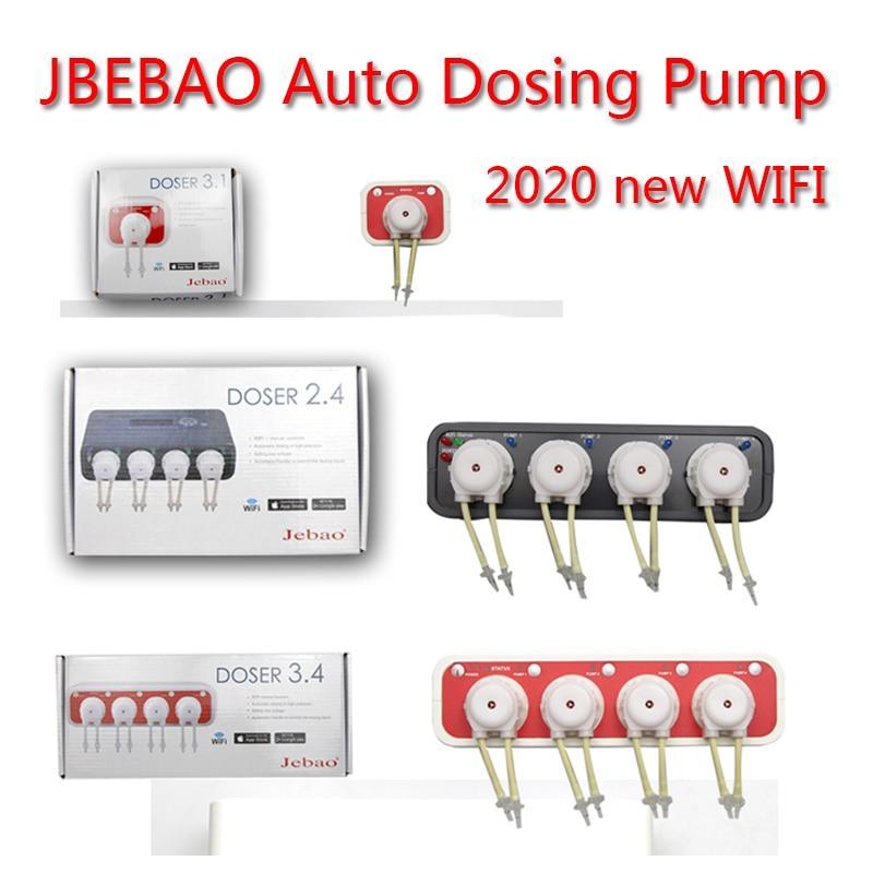 2020NEW JEBAO WIFI Mini Titration Pump Titration System Aquarium Automatic Titration Pump Plus Liquid Pump DOSER 3.4 DP-4