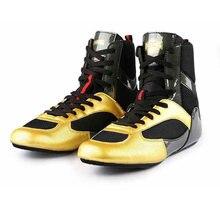 2020 новые дышащие туфли для Реслинга; Цвета: золотистый Для