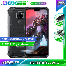 """Rugged Mobile Phone Doogee S68 Pro Helio P70 Octa core 6GB 128GB Wireless Charge 5.84"""" IPS Display 6300mAh 12V/2A Smartphone"""