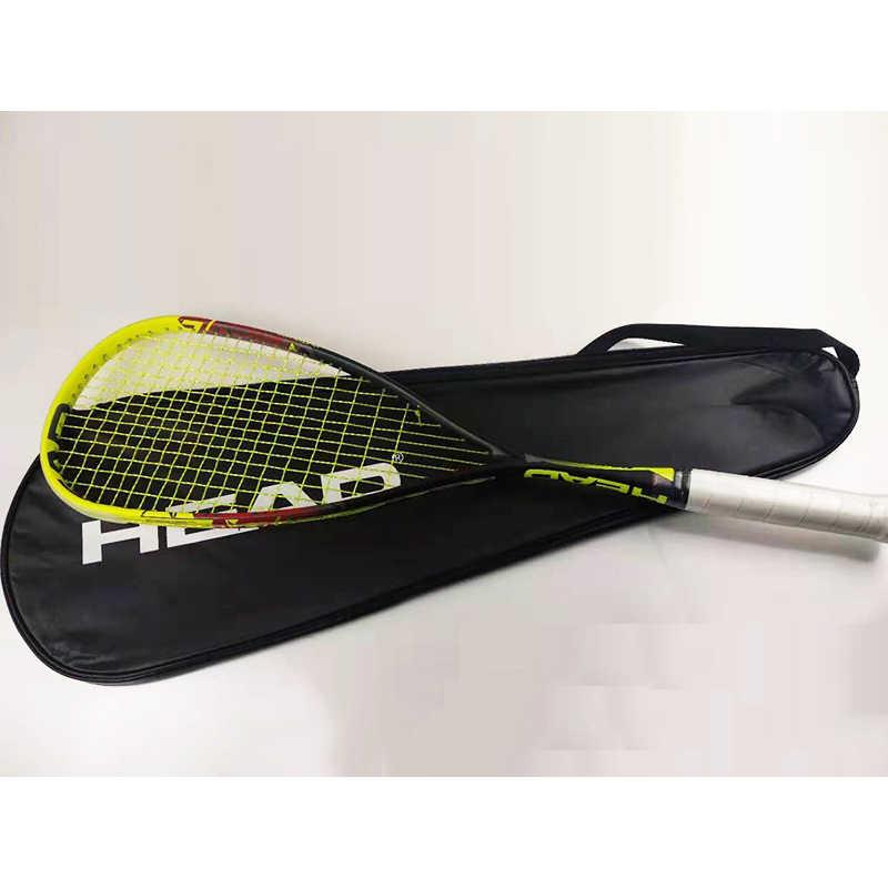 Carbon Kopf Squash Schläger Mit Squash String Tasche Geschwindigkeit Sport Carbon Padel Spiel Ausbildung Schläger Kopf Raquete De Squash Raqueta