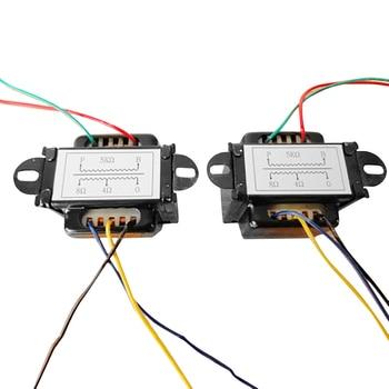 1pc Durable Single-ended 5V Output Audio Transformer Black 60 * 55 * 50 mmfor Tube Amplifier 6P1 6P14 6P6 el34b single ended tube amplifier 5z4p 6n2j tube hifi audio vacuum tube pwer amplifier