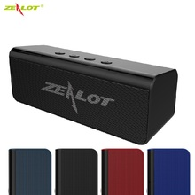 ZEALOT S31 Bluetooth Speaker Mini Portable Wireless Speakers Sound System 3D Stereo Music Surround Speaker Support USB TF Card