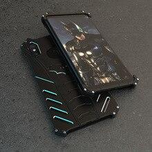 Funda de aluminio para Xiaomi Mi 10 9 Pro 6X, carcasa de Metal resistente con armadura de BATMAN para Xiaomi Max 3 Mix 2S Mi 8 9 Lite Mix 3 Play