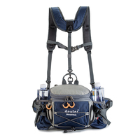 Bolsa de cintura para deportes al aire libre, mochila de ciclismo, montañismo, botella de agua corriente, impermeable