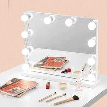 usb three-tone fill light makeup mirror fill light LED decorative light hidden wiring dressing room bulb light mirror front