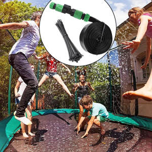 Sprinkler Trampoline Water-Fun Outdoor for Kids Yard Outside Summer
