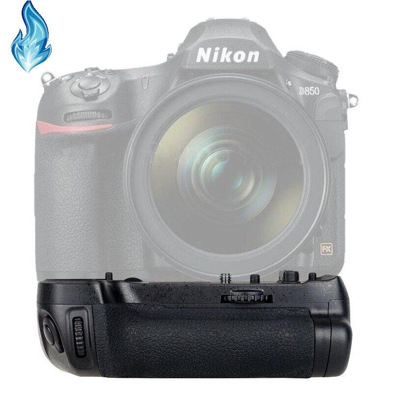 10x MB-D18 aperto da bateria para d850 câmera, trabalho com EN-EL15 EN-EL15a ou 8 pces aa bateria suporta tiro vertical