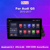 For Audi Q5 2010 2018 Car Radio Multimedia Video Player Navigation GPS Android 9.0 Accessories SWC BT WIFI Sedan No dvd