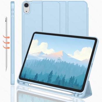 Dla iPad Air 4 iPad Pro 11 2020 2021 etui na iPad 8 Generacji etui Funda 8 6 7 Generacji 10 2 Air 2020 Air 3 Mini etui tanie i dobre opinie HAIMAITONG Składane etui CN (pochodzenie) for ipad air 3 case Stałe 18cm Dla apple ipad moda funda for ipad 8 generacion