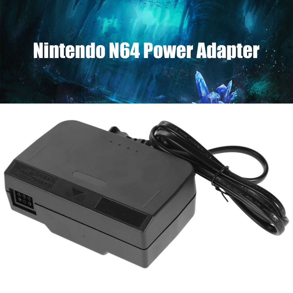 For Nintendo N64 AC Adapter Charger Nintendo 64 US Regulatory Power Adapter Power Supply Cord Charging Charger Power Supply