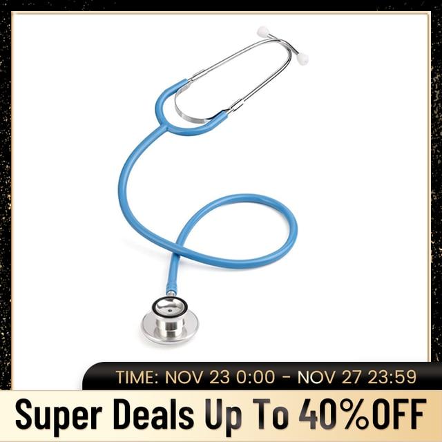 Di base Medico Stetoscopio Professionale A Doppia Testa Cardiologia Stetoscopio Apparecchiature Mediche Studente Vet Infermiera Dispositivo Medico