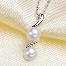 Silvery Pearl Pendant Accessories DIY Jewelry S925 Sterling Silver Pendant Jewelry Making For Women Vintage Fashion все цены