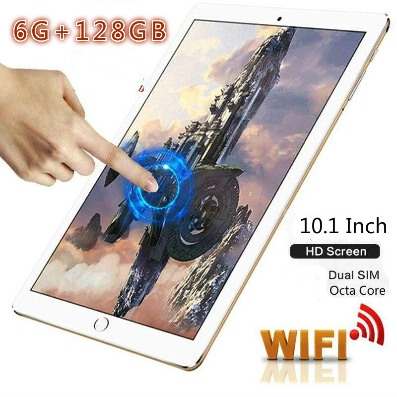 2020 Special Christmas And New Year Gifts 10.1 Inch Android 8.0 Tablet PC 10 Core 6G+128GB Dual SIM Cards 4G Tablet For Kids