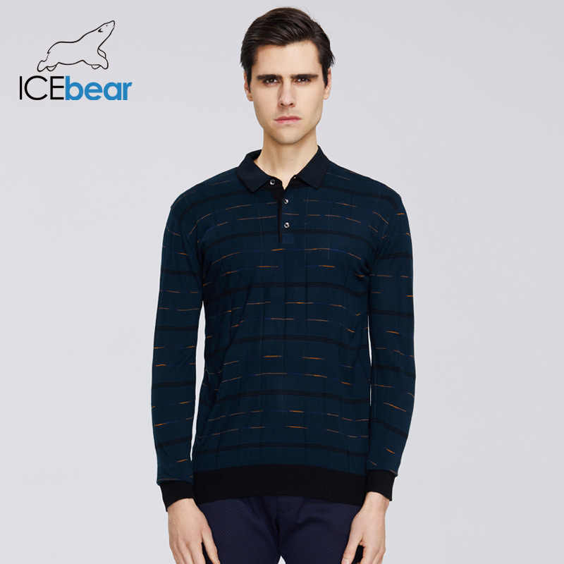 ICEbear 2020 neue männer frühling pullover casual revers pullover qualität männer kleidung der A-18