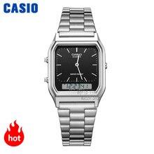 часы мужские casio золотые часы лучший бренд класса люкс двойной дисплей водонепроницаемые кварцевые цифровые мужские часы спортивные военн...