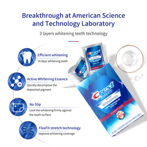 Image 5 - 3D White Whitestrips Luxe Professional Effects Oral Hygiene Original Glamorous White Strips Teeth Whitening Strips Dental Whiten