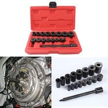 17pcs auto centring mandrel clutch hole corrector tools installation