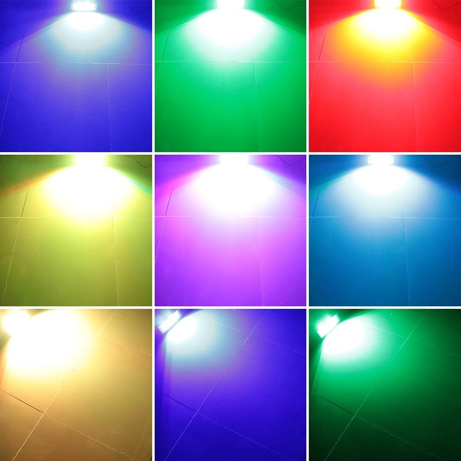 ALIEN RGB White DJ Disco Strobe Lights 40W 60W 80W 100W Remote Control Sound Flash Party Wedding Holiday Stage Lighting Effect 5