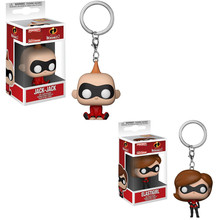 Funko POP Saku Baru Pop Gantungan Kunci Resmi The Incredibles Jack Jack Karakter Action Figure Collectible Model Mainan Natal(China)