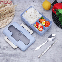 MICCK Japanese 4-color Portable Lunch Box For Kids 2019 New Home Decoration Accessories Bento Food Container