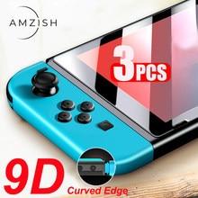 Amzish 3Pc 9H Hd Beschermende Gehard Glas Voor Nintendo Switch Ns Screen Protector Voor Nintendo Schakelaar Lite Bescherming film