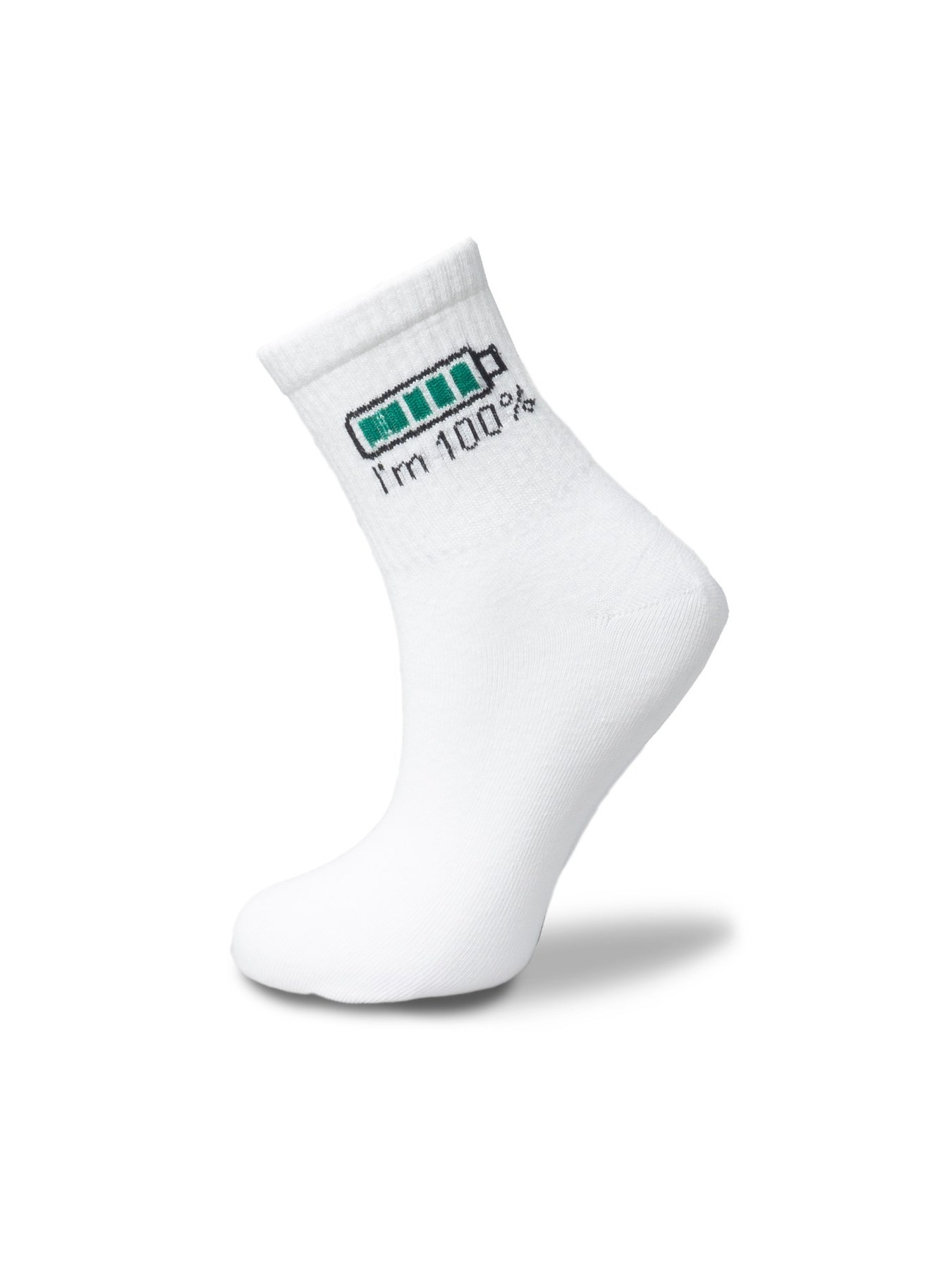 I'm 100% Tennis Socks Unisex 36-42