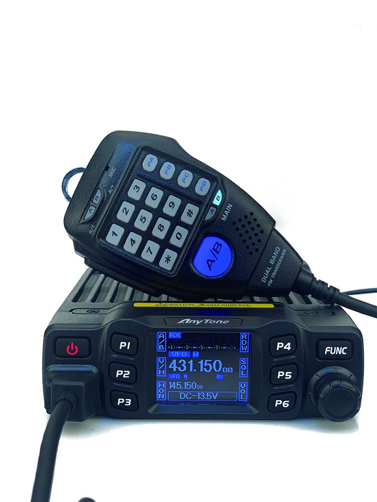 Anytone Walkie-Talkie VHF Mobile-Radio UHF Dual-Band 136-174mhz AT-778UV 400-490mhz 200CH