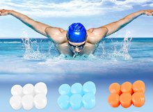 Waterproof 6Pcs Silicone Soft  Protective Ear Plugs sleeping Anti noise Earmuffs Protection Swimming Snorkeling