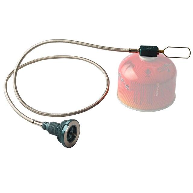 Jeebel Camp zewnętrzna rura przedłużająca gaz kuchenka kempingowa Adapter magnetyczny konwerter gazu butan Adapter
