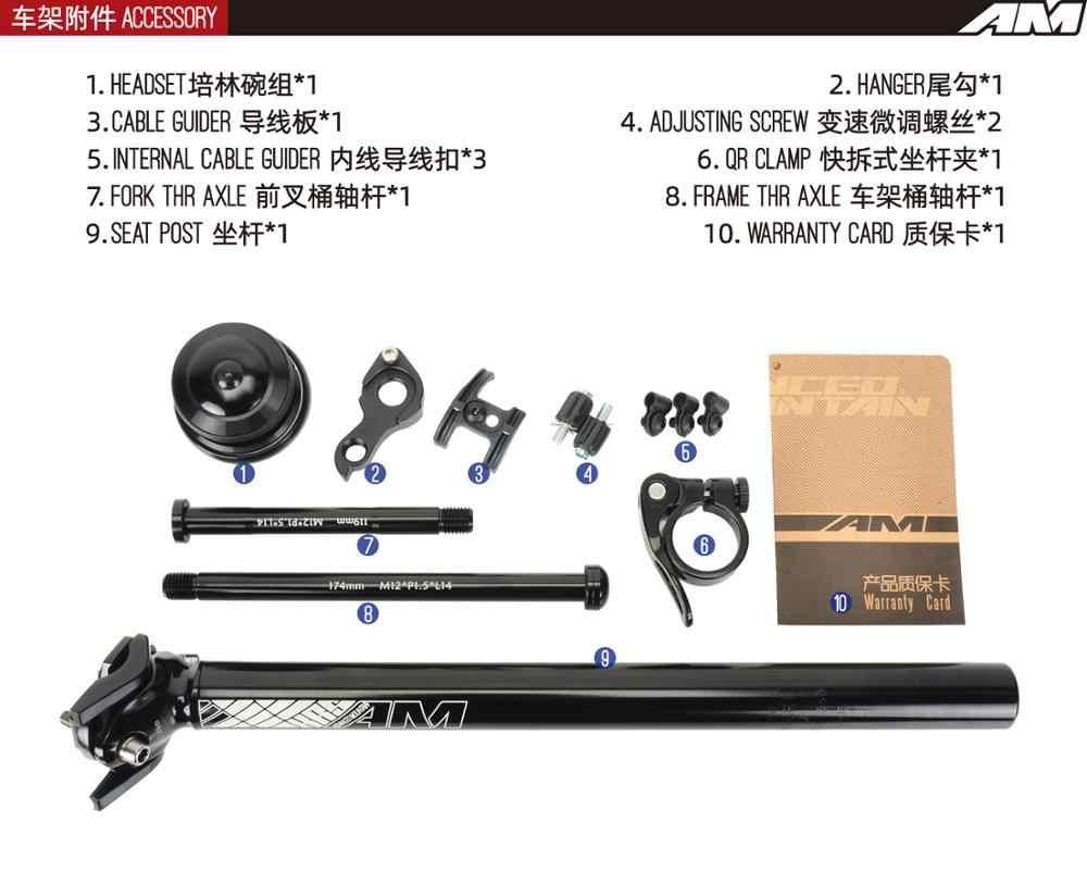 Koozer GX5300 Chroom-molybdeen Stalen Frame Carbon Vork Cx Grind Off-Road Racefiets Road Schijfrem Frame