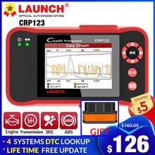 LAUNCH OBD2 Scanner CRP123 Engine/ABS/SRS/Transmission full OBD2 Diagnostic Scan Tools SRS Code Reader lifetime Free Update