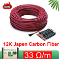 Best Price 10M 15M Minco Heat 12k 33Ohm Fluoroplastic Carbon Fiber Heating Cable Floor Electric Warm Wire, Room heater Hotline