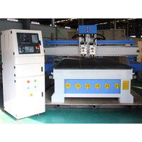 3 axis cnc router machine 1325 1530 woodworking engraving with two spindle
