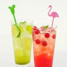 Stirrers Cactus-Stir-Stick Birthday-Bar-Accessories Party-Supplies Cocktail-Drink Plastic