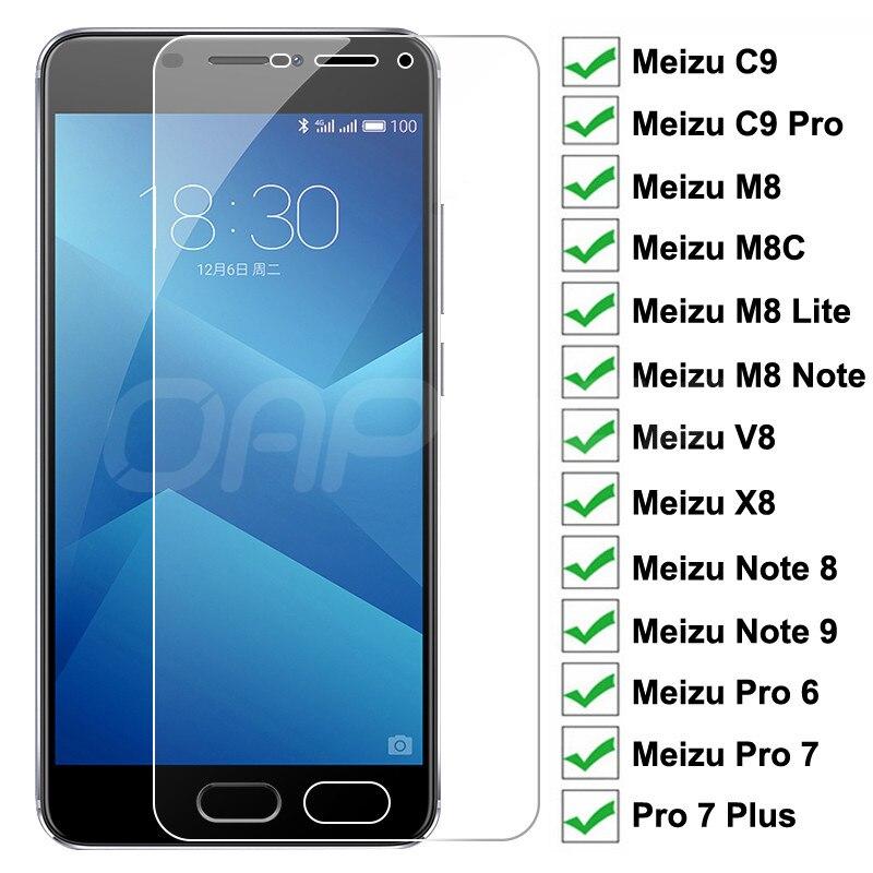 9H Защитное стекло для Meizu C9 Pro 6 7 Plus закаленное защитное стекло для экрана Meizu M8C M8 Lite Note 9 8 V8 X8 прозрачная стеклянная пленка|Защитные стёкла и плёнки|   | АлиЭкспресс