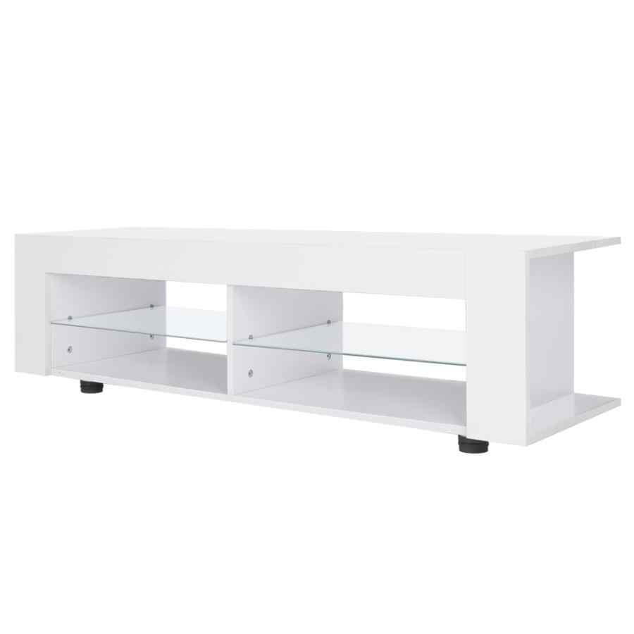 High Gloss Tv Cabinet With Led Lights Modern Tv Stand Media